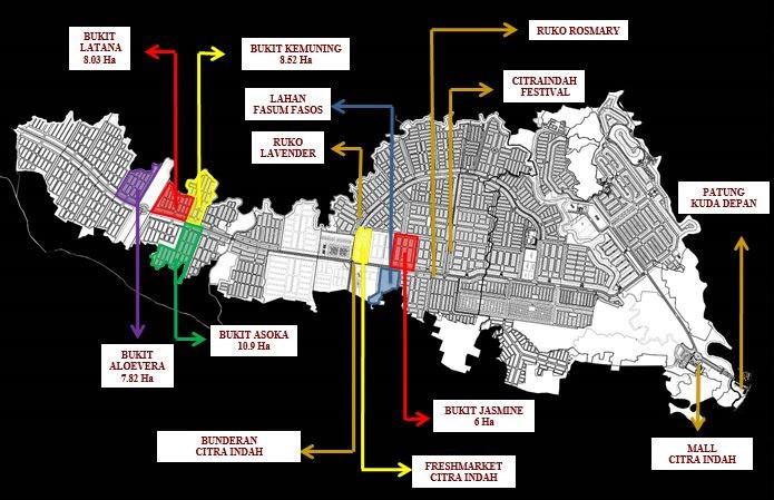 master plan citra indah city