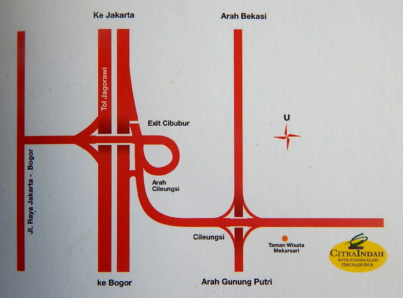 master plan citra indah city