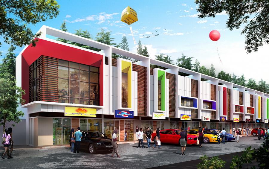 Ruko Rafflesia Boulevard – Ruko A 76/120